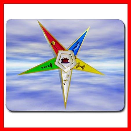Order of The Eastern Star Mouse Pad MousePad Mat 096