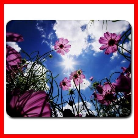 Sunny Flowers Flower Hobby Mouse Pad MousePad Mat 098