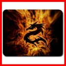 Dragon Fire Flames Fantasy Mouse Pad MousePad Mat 102