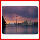 Toronto Skyline Ontario City Mouse Pad MousePad Mat 108