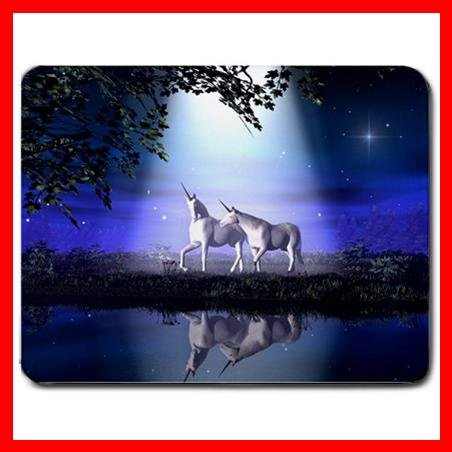 Unicorn lovers Under Moon Myth Mouse Pad MousePad Mat 110