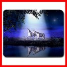Unicorn lovers Under Moon Myth Mouse Pad MousePad Mat 110