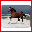 Horse Running On Beach Animal Mouse Pad MousePad Mat 112