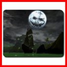 Halloween Moon Holiday Mouse Pad MousePad Mat 115