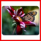Flowers And Butterfly Hobby Mouse Pad MousePad Mat 141