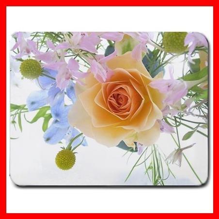 Flowers Spring Bouquet Rose Mouse Pad MousePad Mat 142