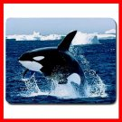 Emerging Killer Whale Animal Mouse Pad MousePad Mat 145