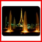 Eiffel Tower Night Paris Fun Mouse Pad MousePad Mat 146