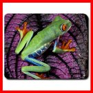 Red Eyed Tree Frog Central America Mouse Pad MousePad Mat 148