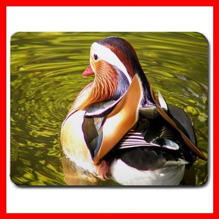 Mandarin Duck Bird Animal Mouse Pad MousePad Mat 158