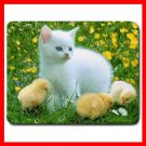 Cat and Chicken Mouse Pad MousePad Mat 162