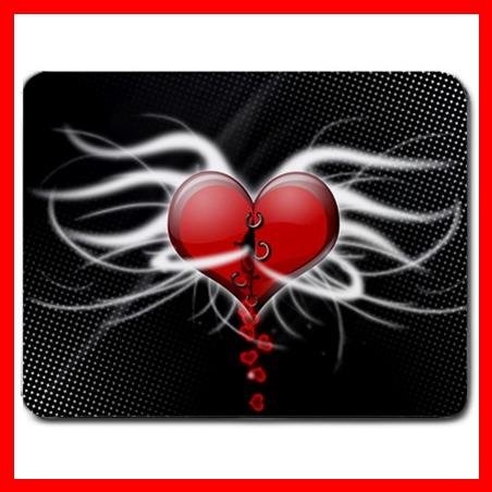 Valentine Day Heart Love Mouse Pad MousePad Mat 169
