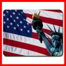 USA Flag Statue of Liberty Mouse Pad MousePad Mat 170