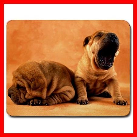 Shar Pei Puppy Dog Pet Animal Hobby Mouse Pad MousePad Mat 177