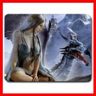 Elfe And Dragon Fantasy Myth Mouse Pad MousePad Mat 182