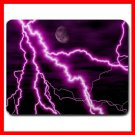 Purple Night Lightning Storm Mouse Pad MousePad Mat 185