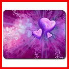 Purple Heart Love Hobby Fun Mouse Pad MousePad Mat 186