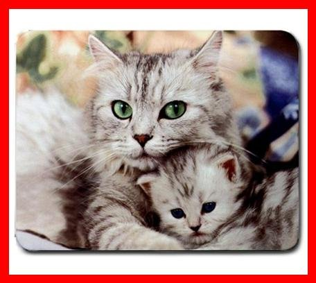 Cat Cats Family Love Pet Mouse Pad MousePad Mat 188