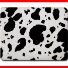 Black Cow Print Animal Hobby Mouse Pad MousePad Mat 191