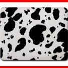 Black Cow Print Animal Hobby Mouse Pad MousePad Mat 191