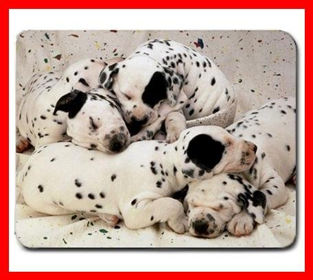 Dalmatian Puppies Dog Puppy Mouse Mouse Pad MousePad Mat 199