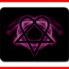 Pink Heartagram Hobby Cool Mouse Mouse Pad MousePad Mat 208