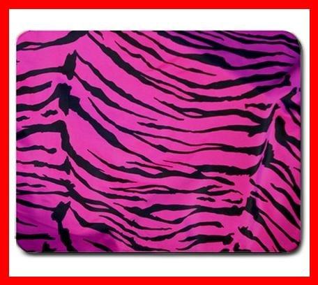 Pink Tiger Skin Print Animal Mouse Mouse Pad MousePad Mat 209
