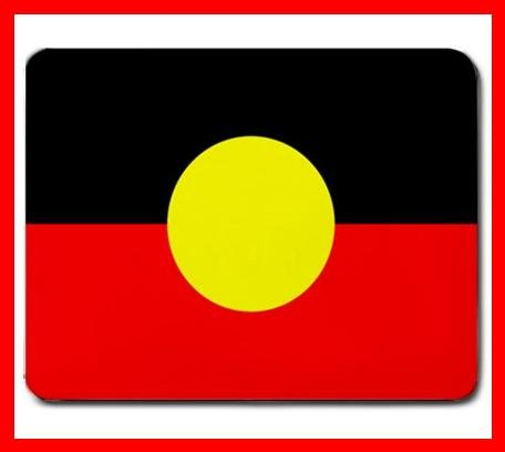 Australian Aboriginal Flag Mouse Mouse Pad MousePad Mat 212