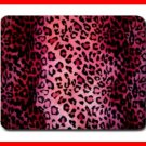 PINK LEOPARD Skin Animal Fun Mouse Mouse Pad MousePad Mat 214