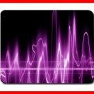 Wave Purple Light Digital Fun Mouse Mouse Pad MousePad Mat 216
