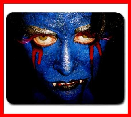 Blue Vampire Cool Mouse Mouse Pad MousePad Mat 222