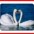 Two Swan Kissing Hobby Mouse Pad MousePad Mat 227