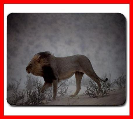 Lion Hunting Animal Hobby Mouse Pad MousePad Mat 228