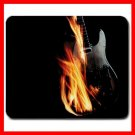 Flames GUITAR Music Hobby Mouse Pad MousePad Mat 241