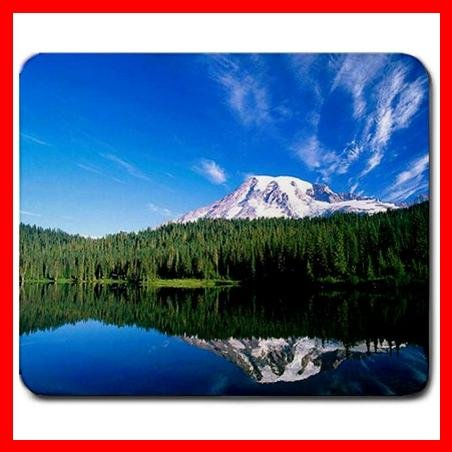 Beautiful Lake Snow Mountain Mouse Pad MousePad Mat 245