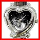 Cute Cat Kitty Pet Animal Italian Charm Wrist Watch 002