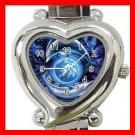 Dolphins Flying Earth Myth Italian Charm Wrist Watch 009