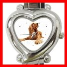 American Cocker Spaniel  Dog Pet Hobby Italian Charm Wrist Watch 015