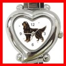 Gordon Setter Dog Pet Hobby Italian Charm Wrist Watch 016