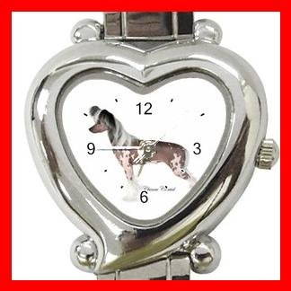 Chinese Crested Dog Pet Hobby Italian Charm Wrist Watch 021