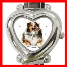 Collie Dog Pet Hobby Italian Charm Wrist Watch 022