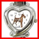 Irish Terrier Dog Pet Hobby Italian Charm Wrist Watch 024