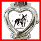 Miniature Bull Terrie Dog Pet Hobby Italian Charm Wrist Watch 026