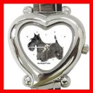 Scottish Terrier Dog Pet Hobby Italian Charm Wrist Watch 028