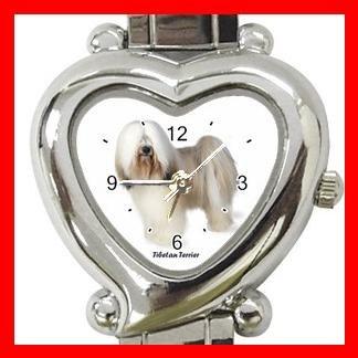 Tibetan Terrier Dog Pet Hobby Italian Charm Wrist Watch 029