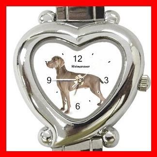 Weimaraner Dog Pet Hobby Italian Charm Wrist Watch 031