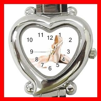 Ballet Shoes Dance Game Hobby Italian Charm Wrist Watch 039