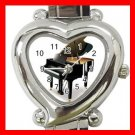 PIANO Music Instrument Hobby Italian Charm Wrist Watch 040