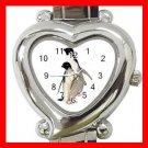 Two PENGUINS Walking Italian Charm Wrist Watch 044