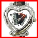Accordion Piano Music Hobby Italian Charm Wrist Watch 048